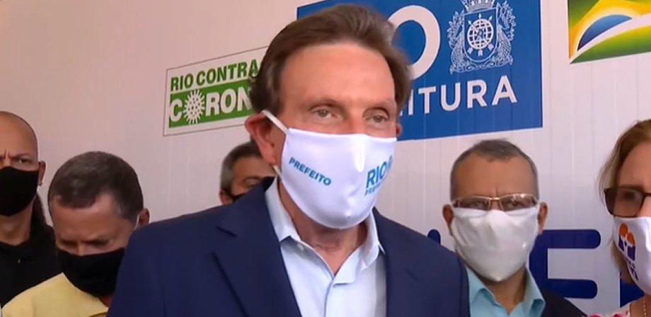Crivella não garante volta do público aos jogos de futebol no Rio em 10 de julho – FogãoNET