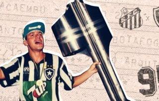 Reprise da final de 95, entre Botafogo e Santos, já tem 7 mil ingressos simbólicos vendidos
