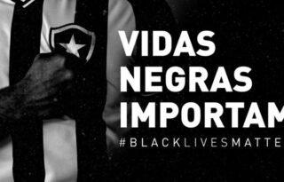 Botafogo adere à campanha 'Vidas negras importam' em protesto contra o racismo