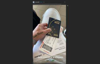 Rafael Forster posta foto já a caminho do Brasil para se apresentar ao Botafogo