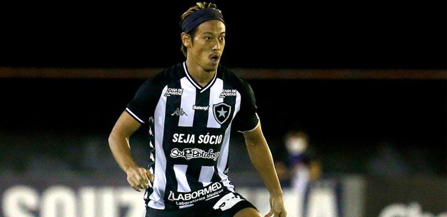 Keisuke Honda em Portuguesa x Botafogo   Campeonato Carioca 2020