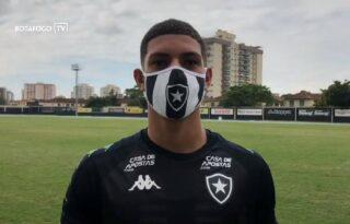 Luis Henrique se diz ansioso em atuar ao lado de Kalou no Botafogo: 'Vai me ajudar muito'