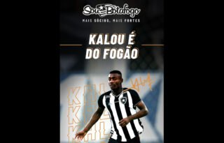 Jornal português enche a bola do Botafogo por fechar com Kalou: 'Contratação certeira'