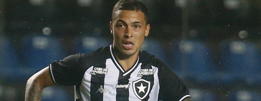 Emprestado pelo Corinthians, Thiaguinho teve passagem apagada pelo Botafogo (Foto: Vítor Silva/BFR)