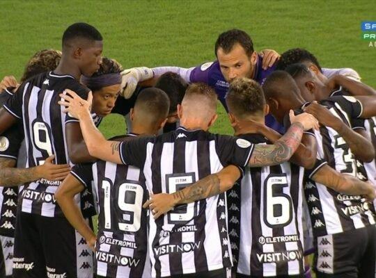 Por que o Botafogo não vence? Números provam que falta intensidade