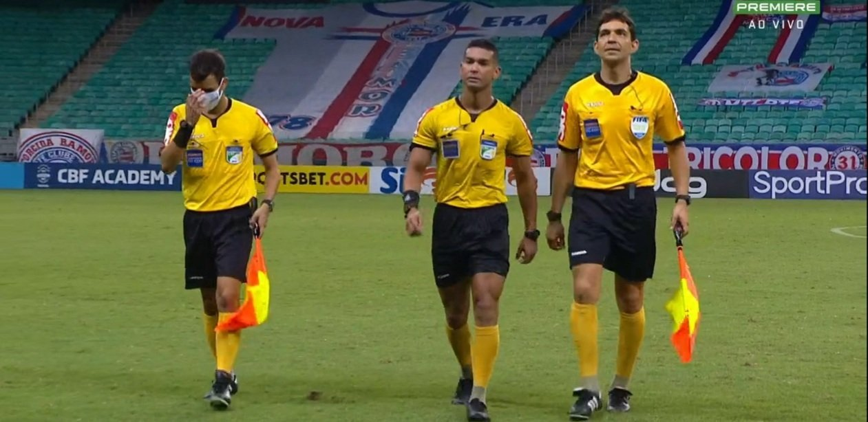 Arbitragem Bahia x Botafogo