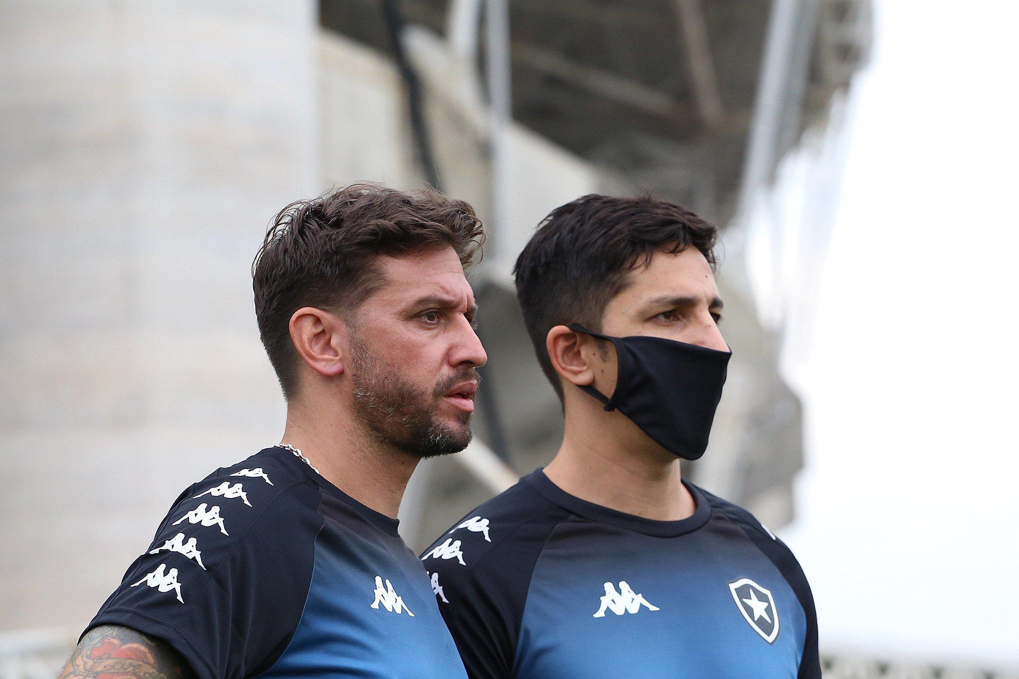 Osmar Ferreyra e Damián Paz - Botafogo