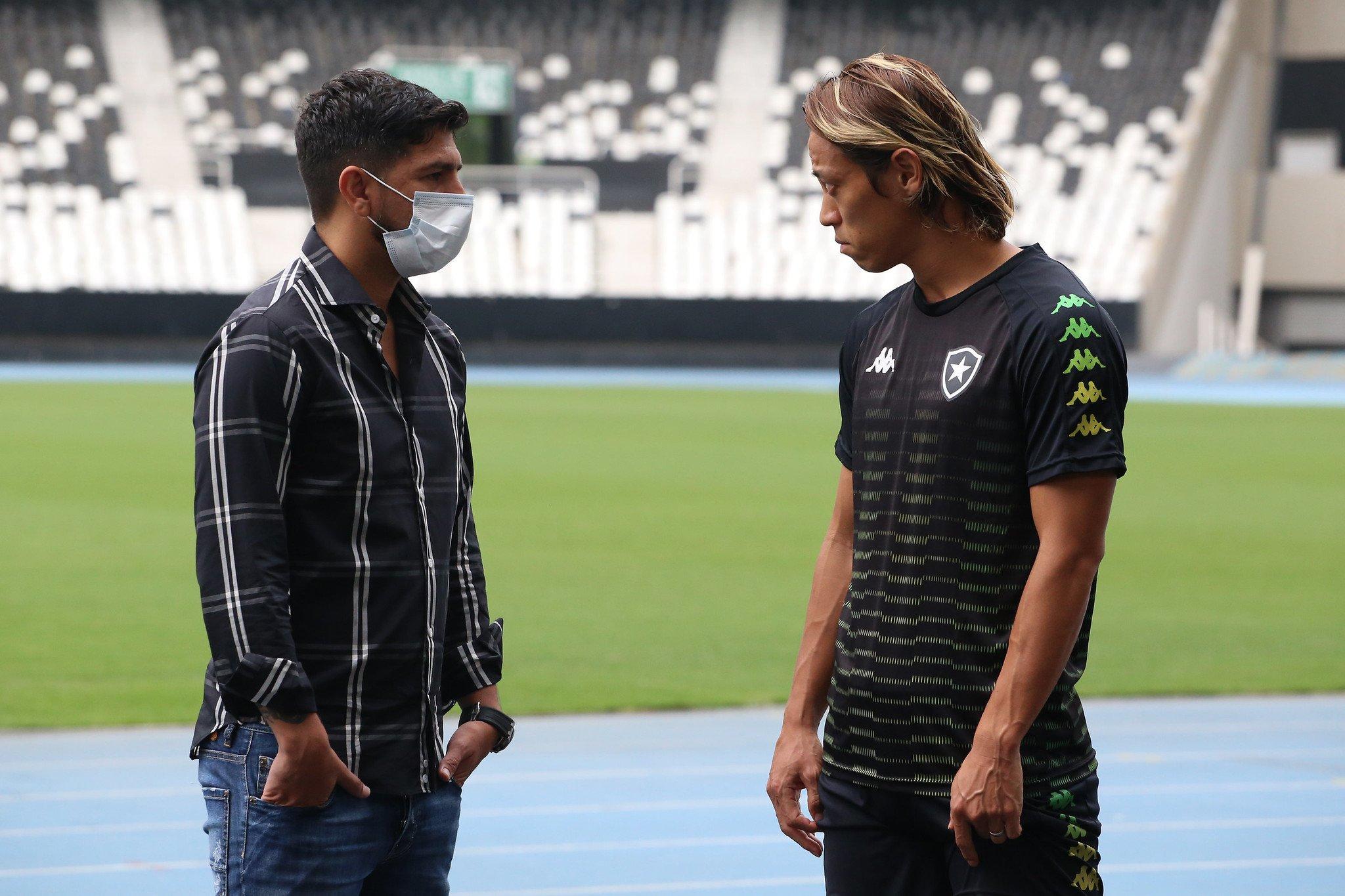 Emiliano Díaz e Honda - Botafogo