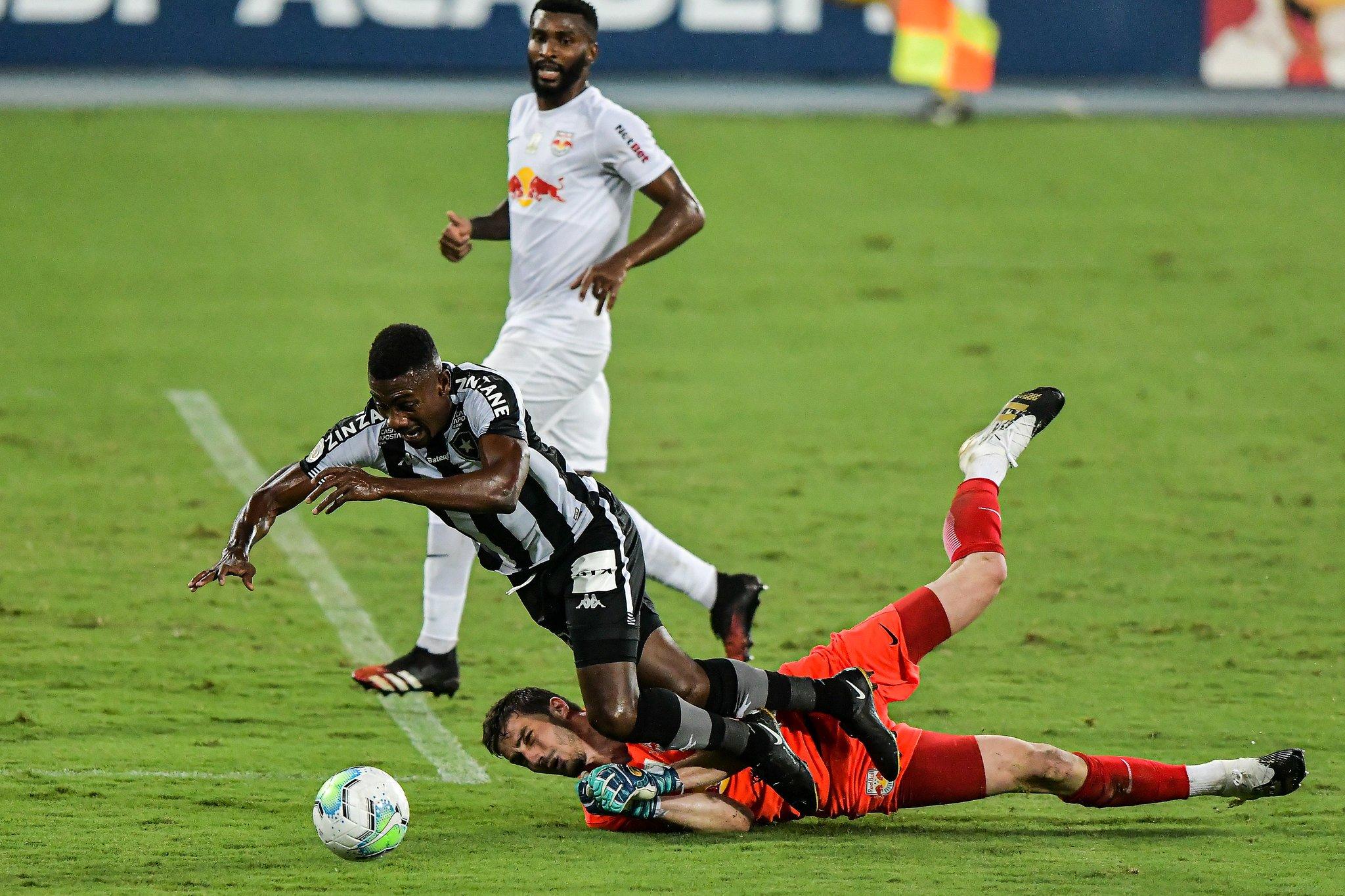 Pênalti em Kalou | Botafogo x Red Bull Bragantino | Campeonato Brasileiro 2020