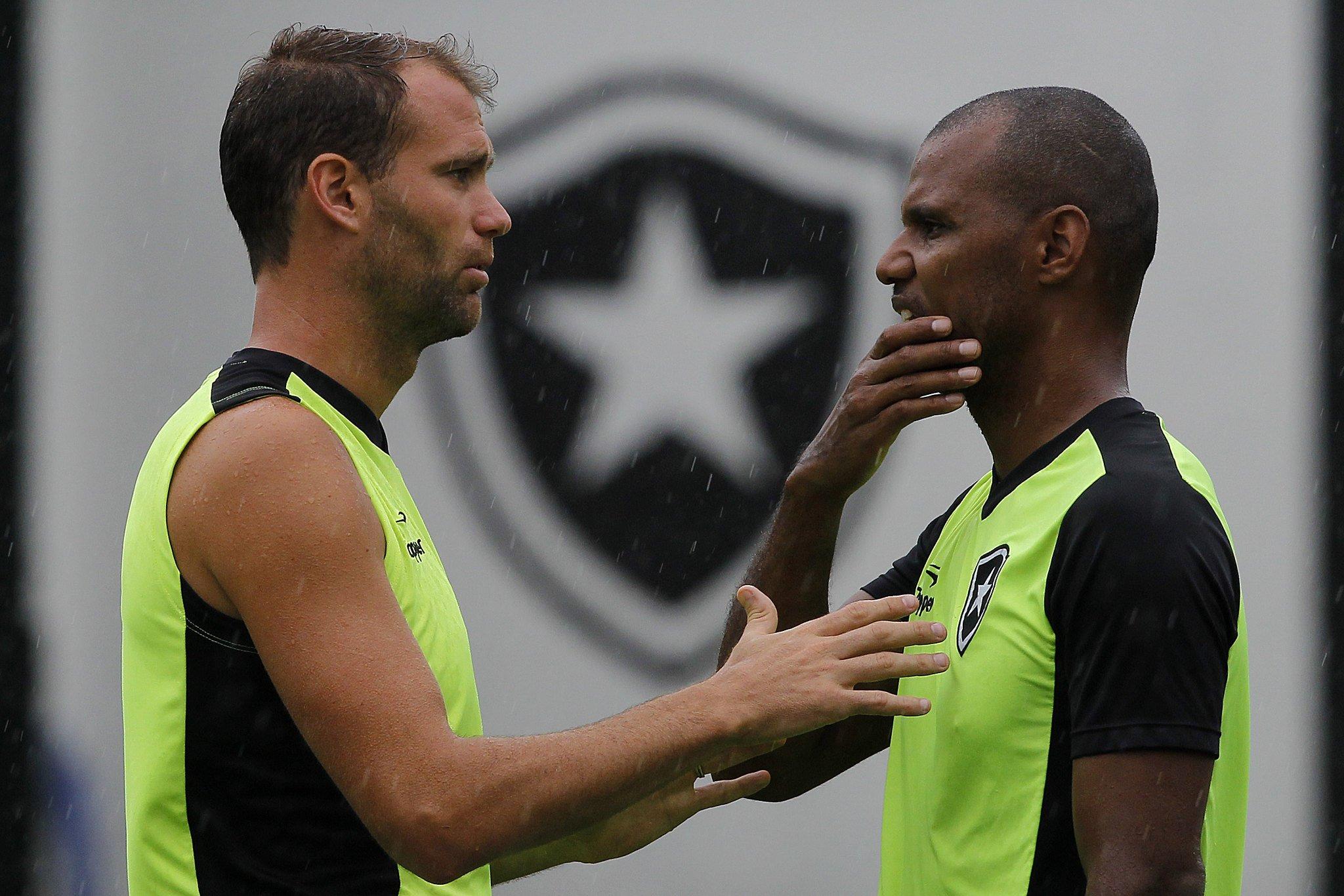 Carli e Jefferson - Botafogo