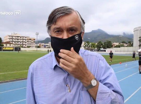 Durcesio estima perda de R$ 100 milhões com Série B, mas mantém esperança em Botafogo não cair: 'Milagres existem'