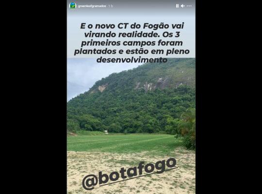 Obras do novo CT estão paradas e sem previsão de finalização; Botafogo tem plano B