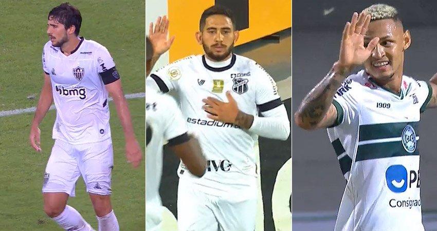 Lei do Ex: Igor Rabello (Atlético-MG), Leandro Carvalho (Ceará) e Neilton (Coritiba) marcaram gol no Botafogo no Brasileirão-2020