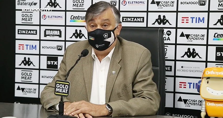 Apresentação de Eduardo Freeland como diretor de futebol do Botafogo