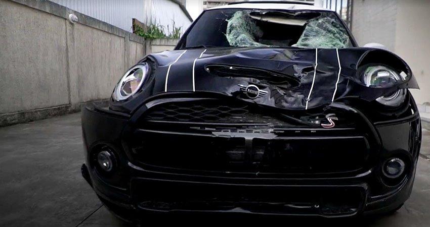 Caso Marcinho: carro de ex-lateral direito do Botafogo após homicídio no Recreio dos Bandeirantes