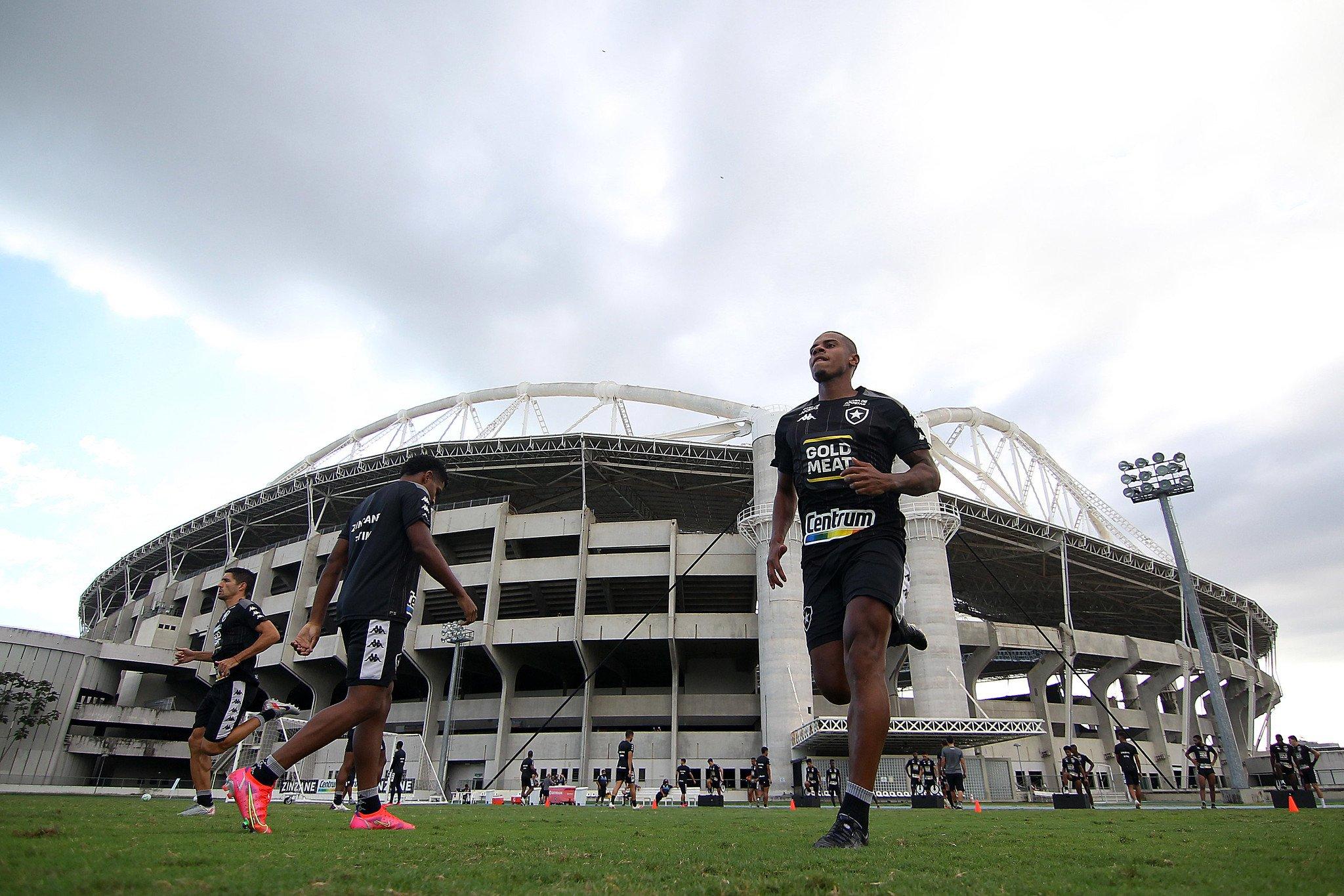 Rickson - Treino do Botafogo