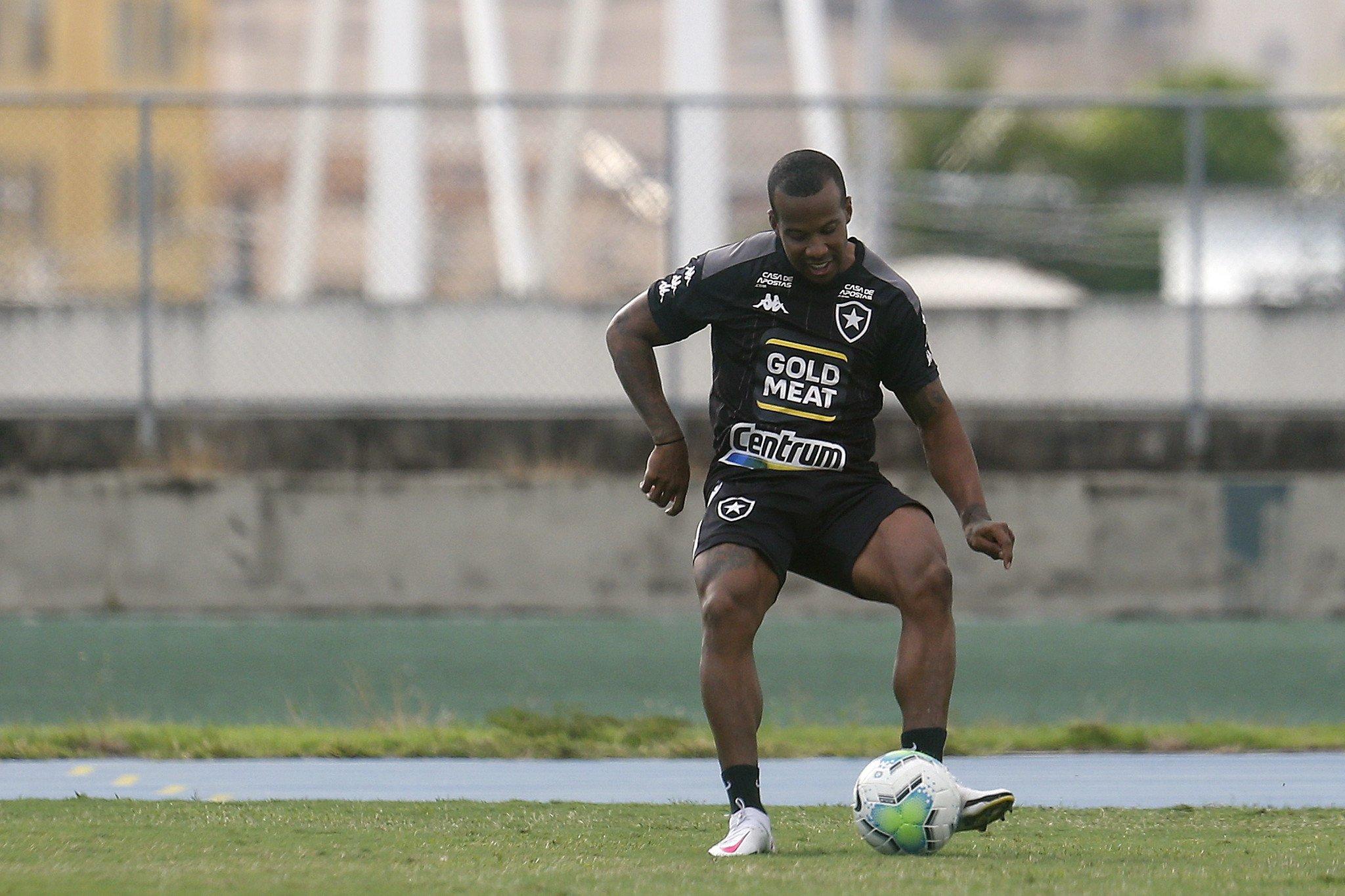 Guilherme Santos - Treino do Botafogo