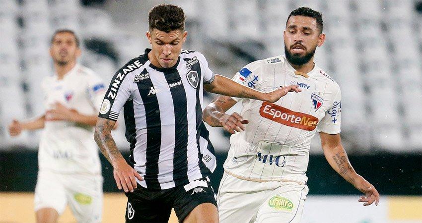 Bruno Nazário em Botafogo x Fortaleza   Campeonato Brasileiro 2020