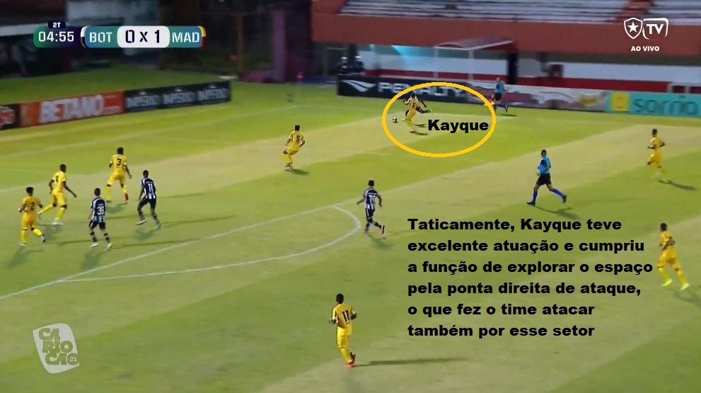 Análise Botafogo x Madureira