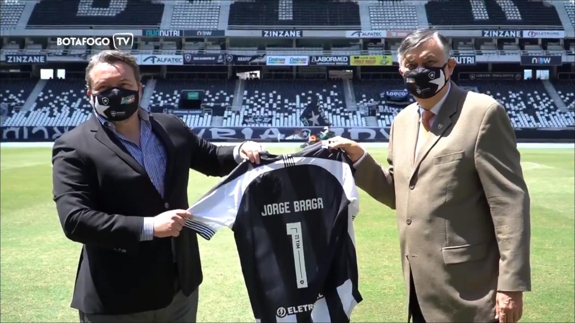 Jorge Braga, novo CEO do Botafogo