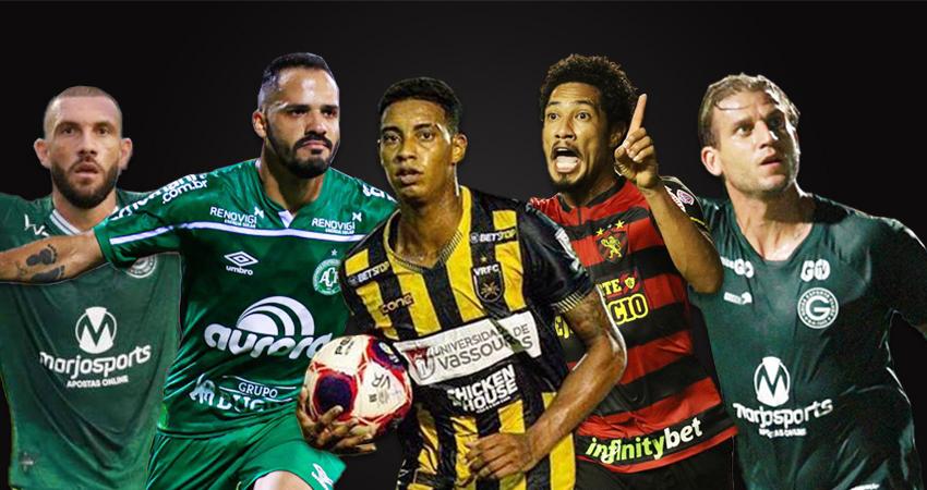 Fernandão, Anselmo Ramon, Alef Manga, Hernane Brocador e Rafael Moura estão na mira do Botafogo para 2021