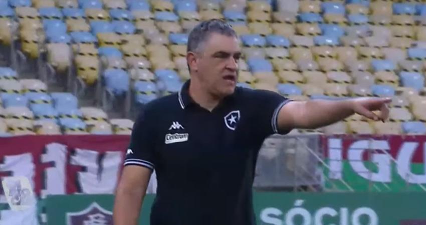 Marcelo Chamusca em Fluminense x Botafogo | Campeonato Carioca 2021