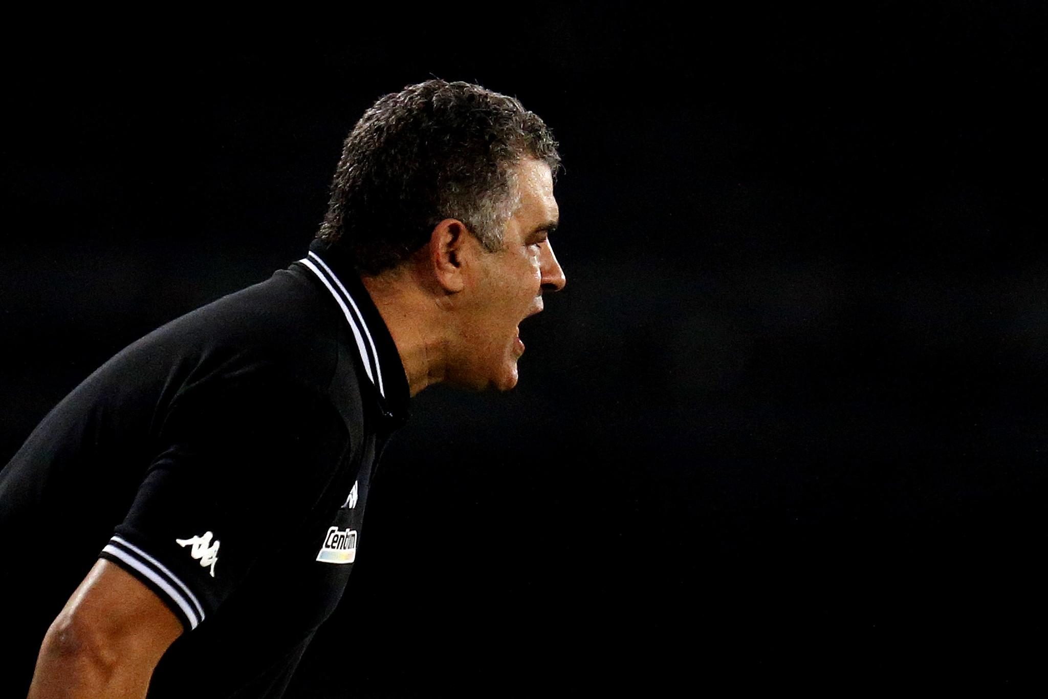 Marcelo Chamusca - Botafogo x Nova Iguaçu