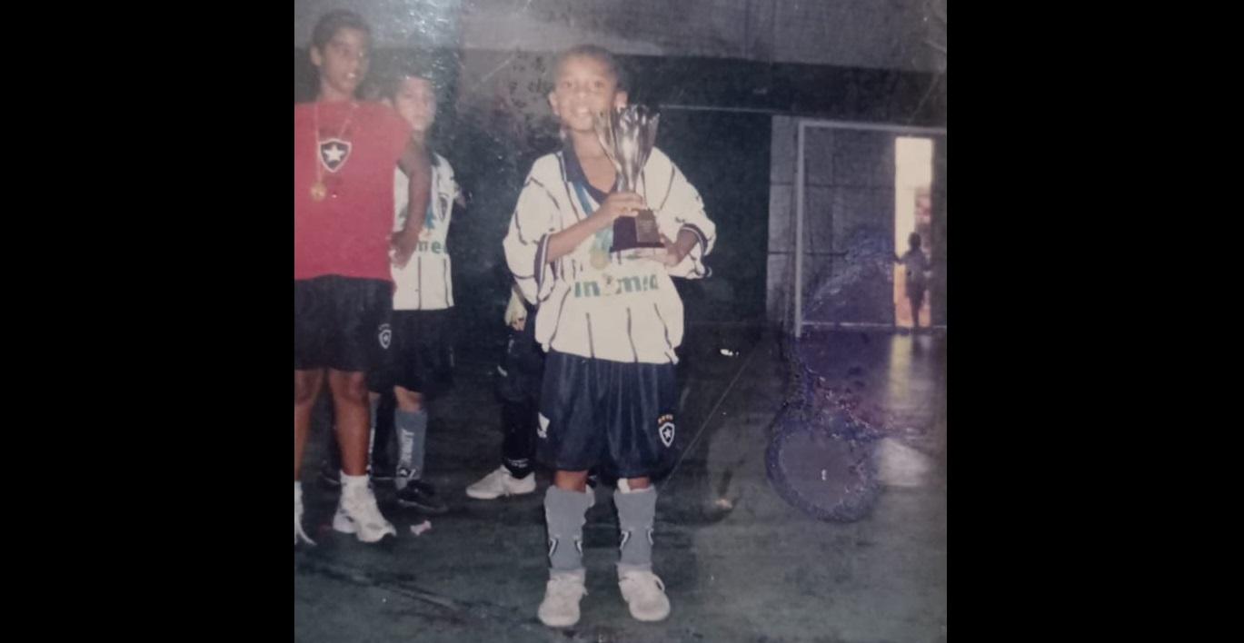 Chay jogou futsal no Botafogo
