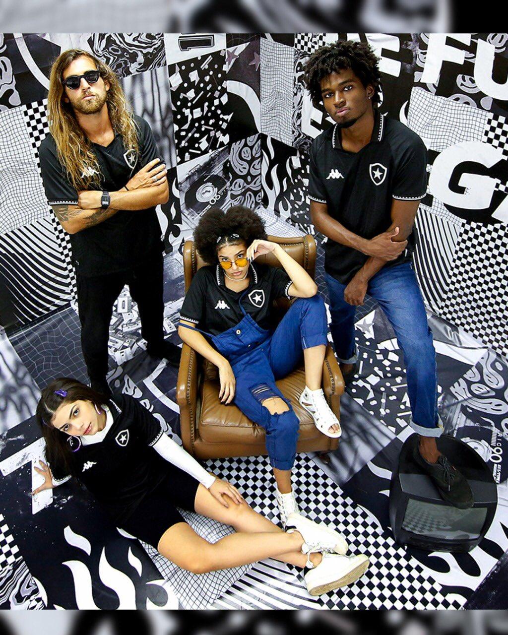 Novas camisas do Botafogo e da Kappa