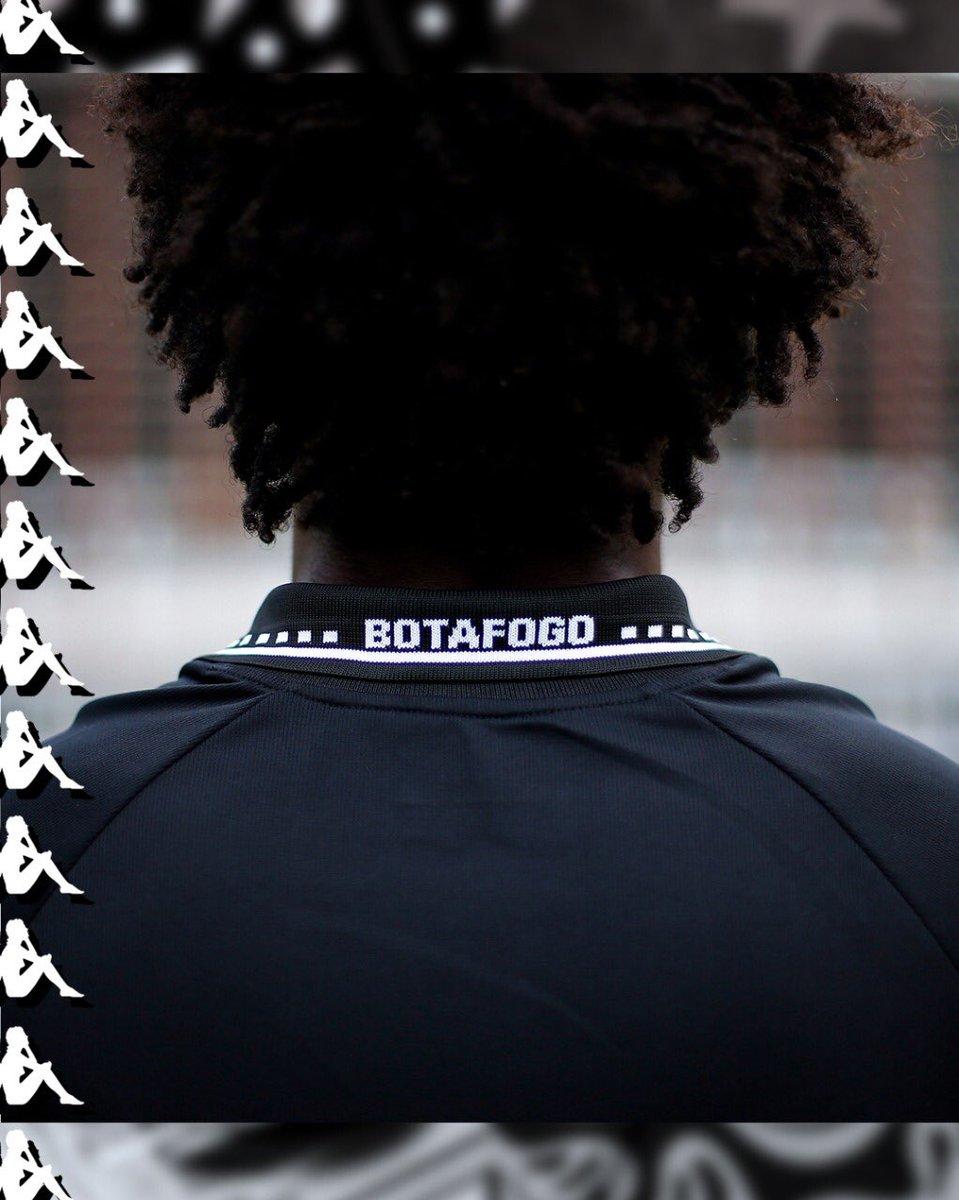 Nova camisa preta do Botafogo da Kappa