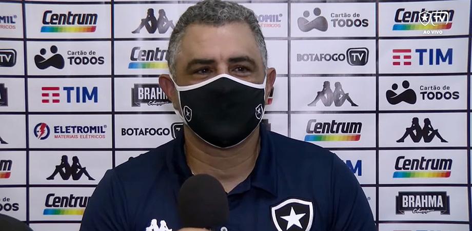 Marcelo Chamusca em Vasco x Botafogo | Taça Rio 2021