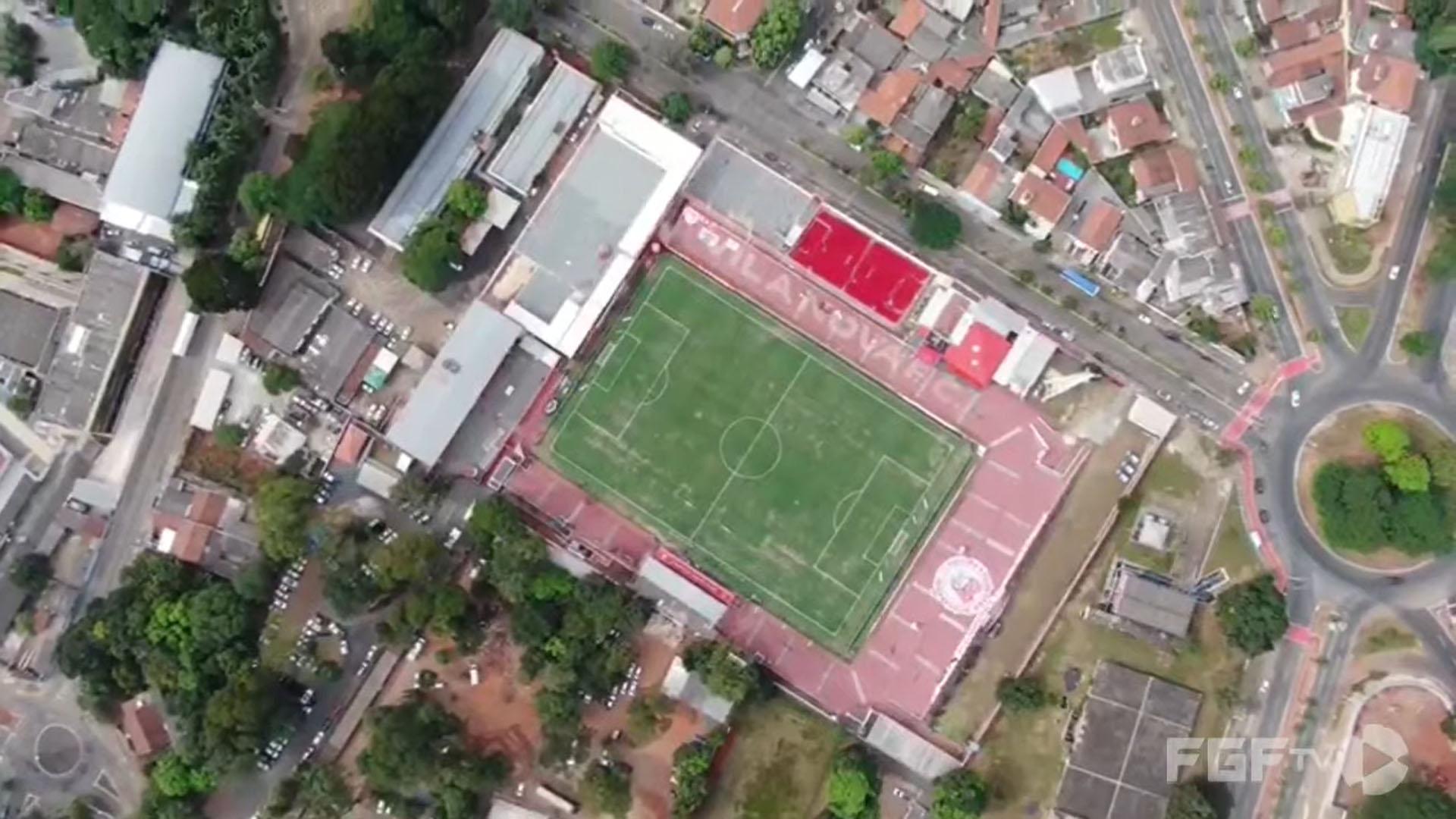 Estádio Onésio Brasileiro Alvarenga (OBA), palco de Vila Nova x Botafogo