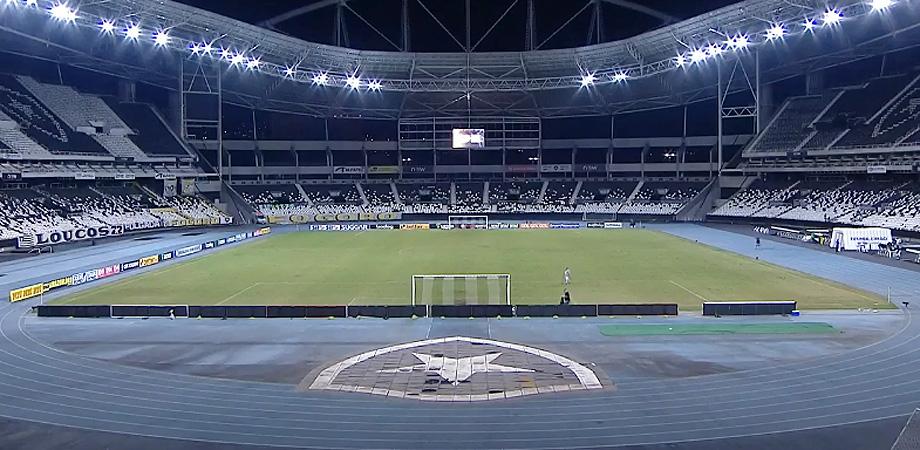 Estádio Nilton Santos em Botafogo x Coritiba | Série B do Campeonato Brasileiro 2021