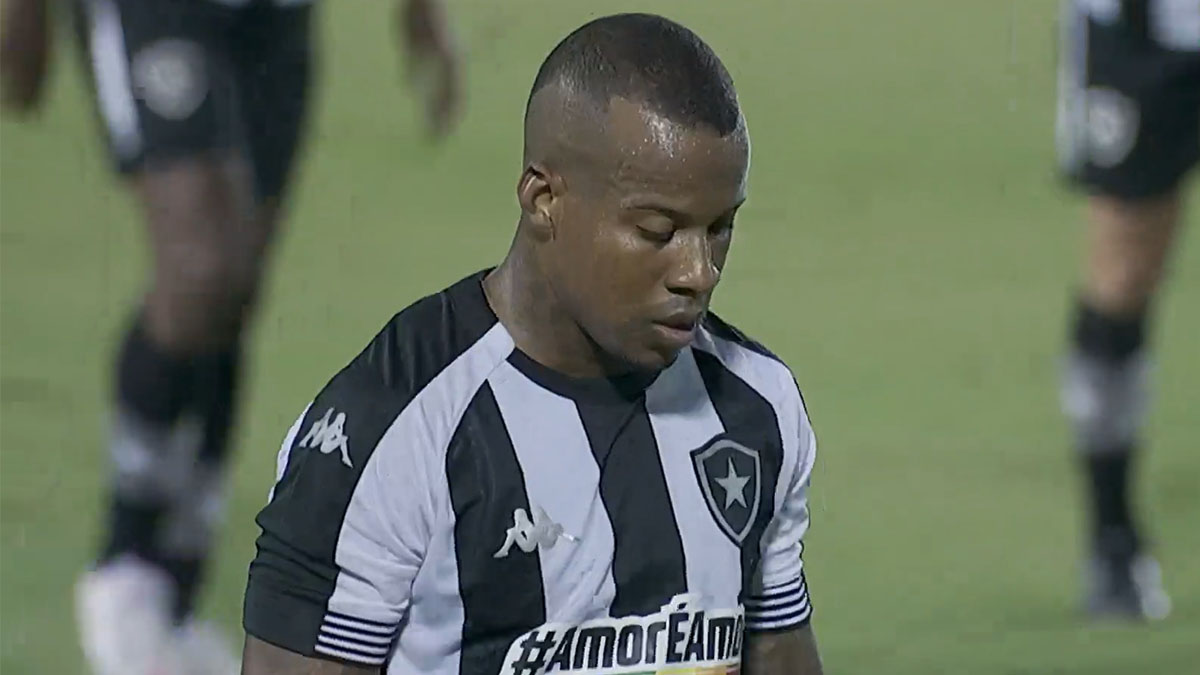 Guilherme Santos - Botafogo x Vitória