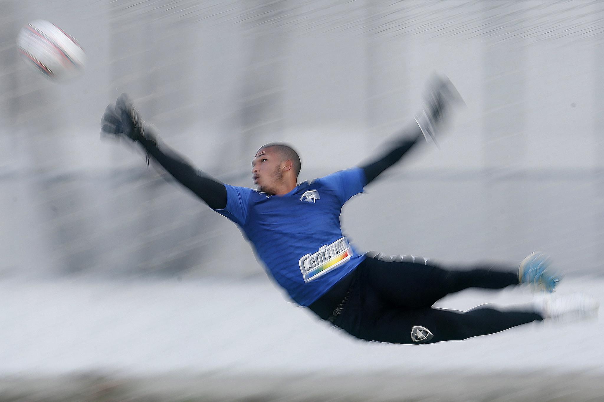 Diego Loureiro - Treino do Botafogo