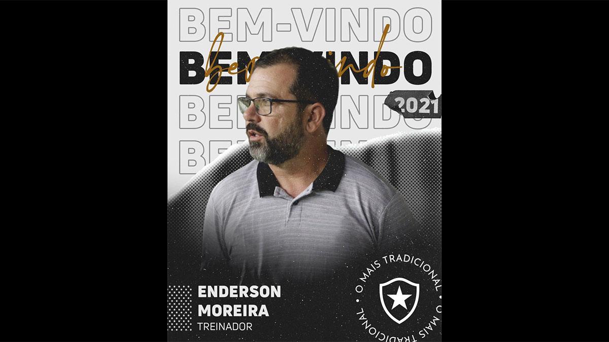 Botafogo anuncia Enderson Moreira como novo treinador