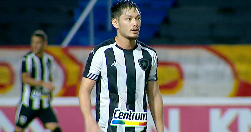 Luís Oyama em CRB x Botafogo | Série B do Campeonato Brasileiro 2021