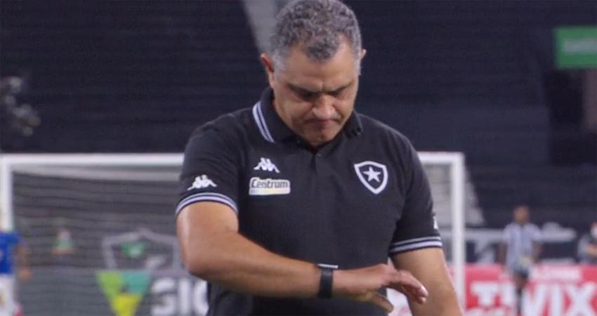 Marcelo Chamusca em Botafogo x Cruzeiro | Série B do Campeonato Brasileiro