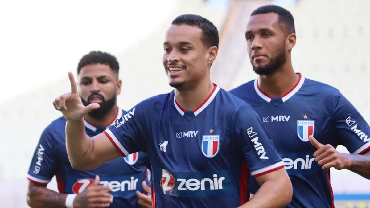 Luiz Henrique, do Fortaleza, é emprestado ao Botafogo