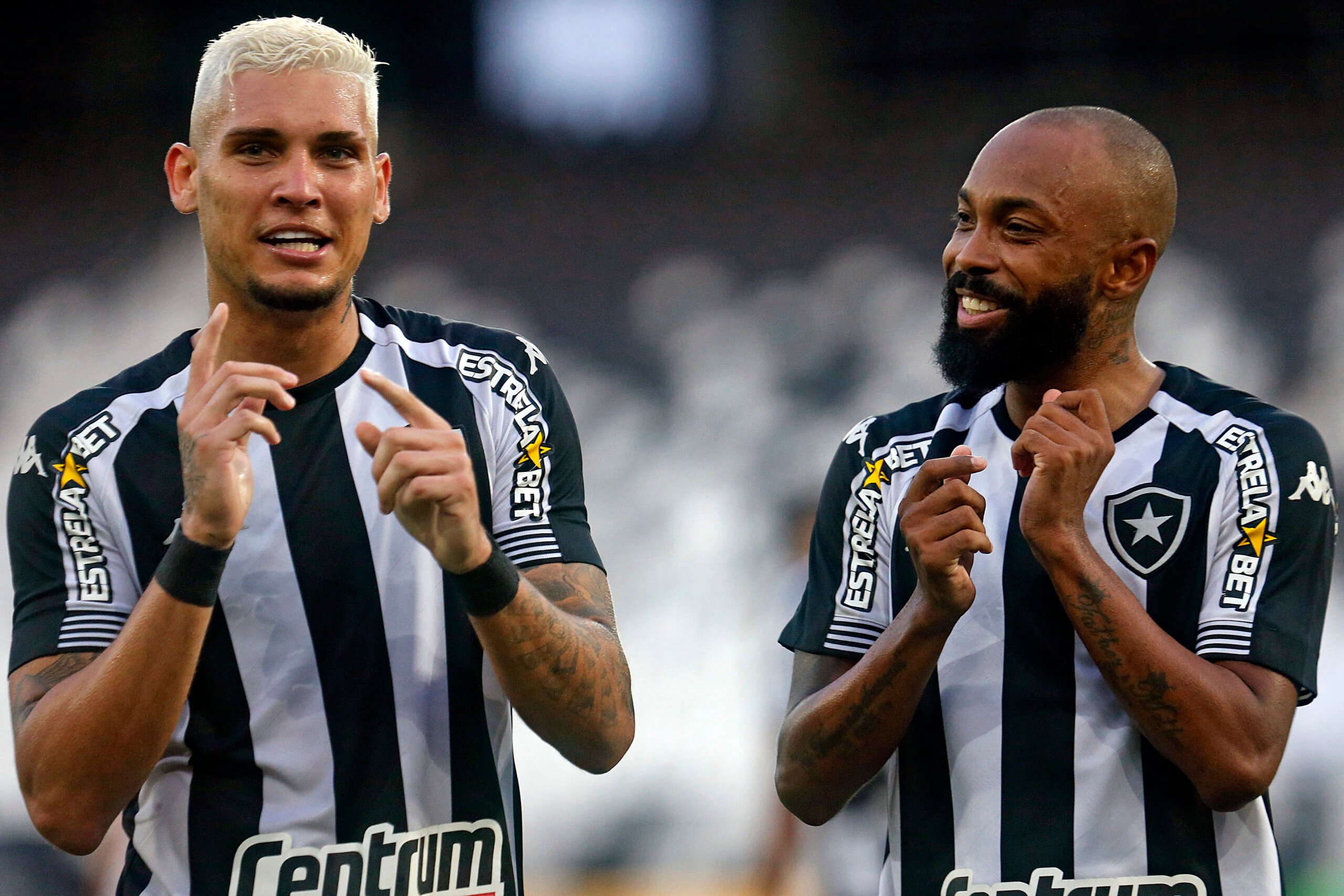 Rafael Navarro e Chay - Botafogo x Náutico