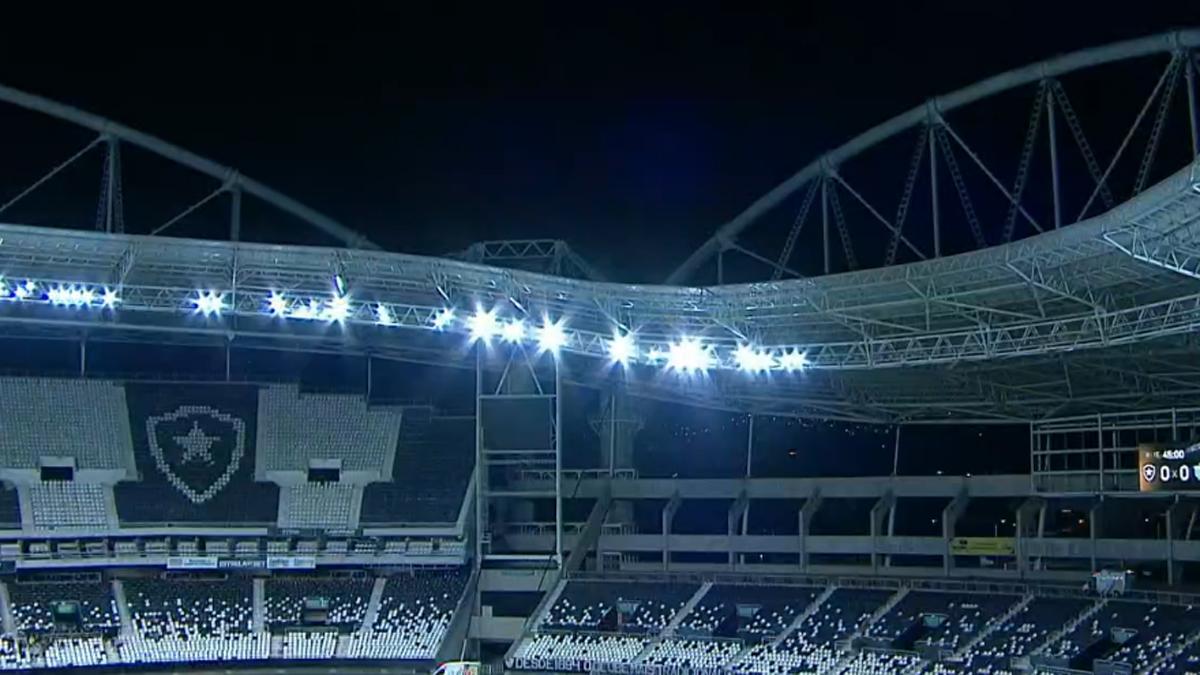 Estádio Nilton Santos em Botafogo x Avaí | Série B do Campeonato Brasileiro
